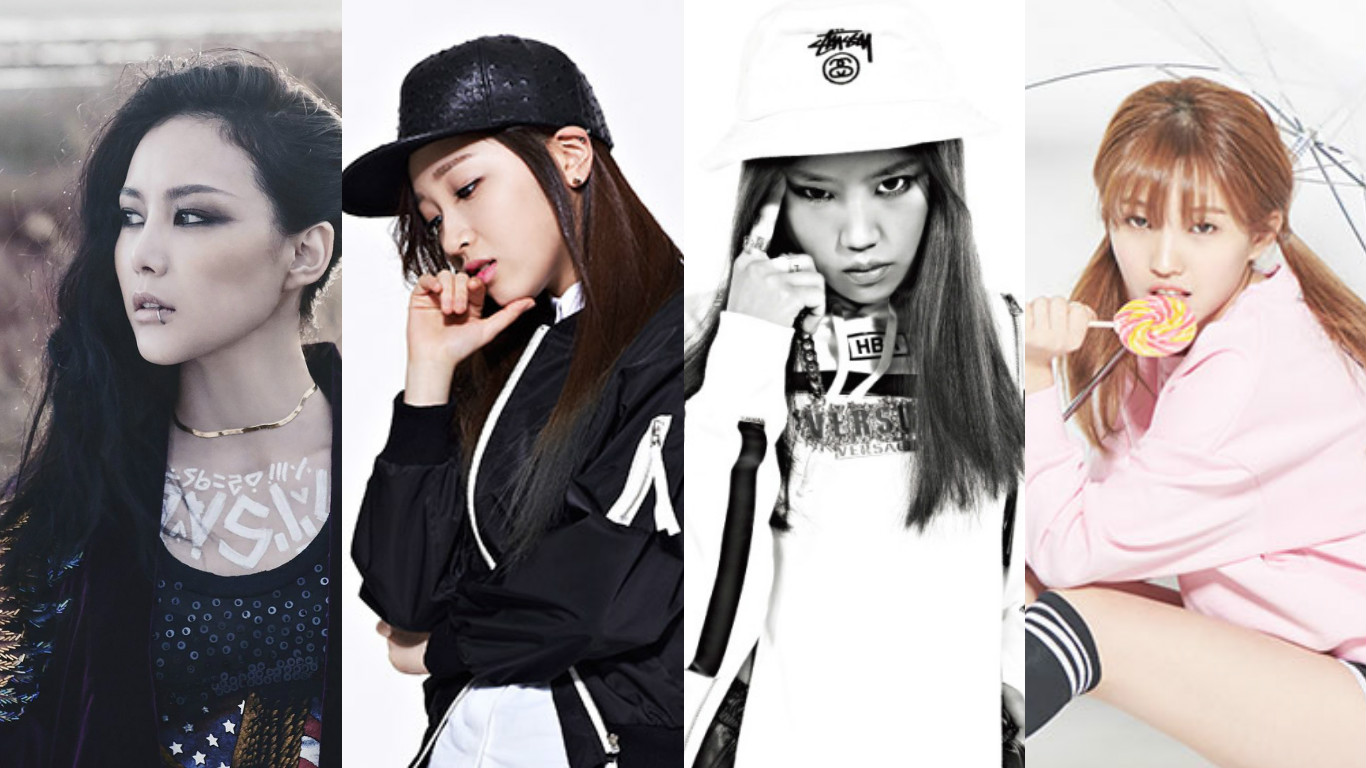 "Miryo, Yuk Ji Dam, Euna Kim, Jeon Soyeon, And Others Confirmed For ""Unpretty Rapstar 3"""