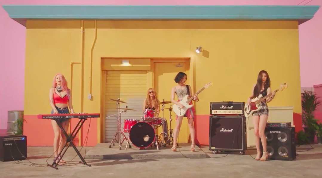 wonder girls why so lonely band