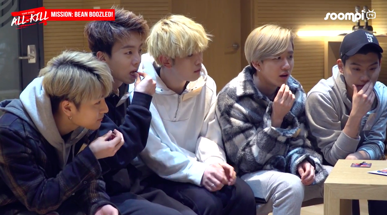 "Watch: Topp Dogg Takes The ""Bean Boozled"" Challenge On ""Topp Dogg: All-Kill"""