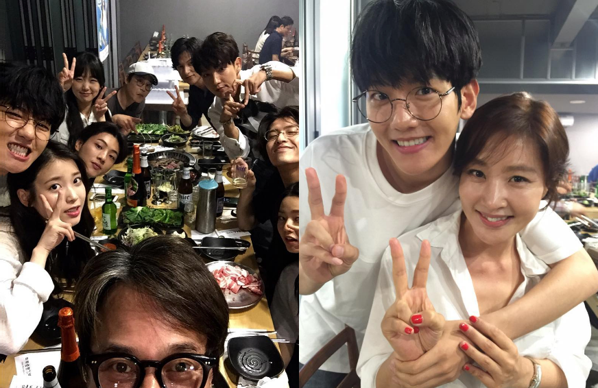"Baekhyun, IU, Lee Joon Gi, Ji Soo, And More Celebrate In Photos From ""Scarlet Heart: Goryeo"" Wrap Party"