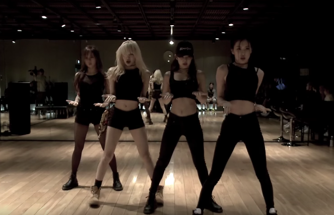Watch: BLACKPINK Goes Hard In First Dance Practice Video