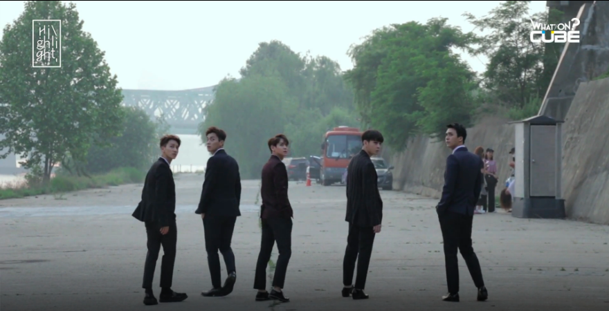 """BEAST Suit Up In Behind-The-Scenes Video Of """"Highlight"""" Jacket Filming"""