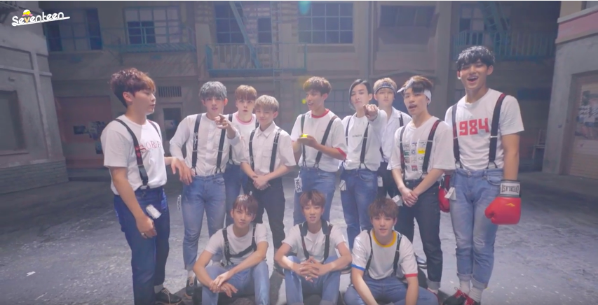 """SEVENTEEN Prove That They Are, In Fact, """"Very Nice"""" In Making Film"""