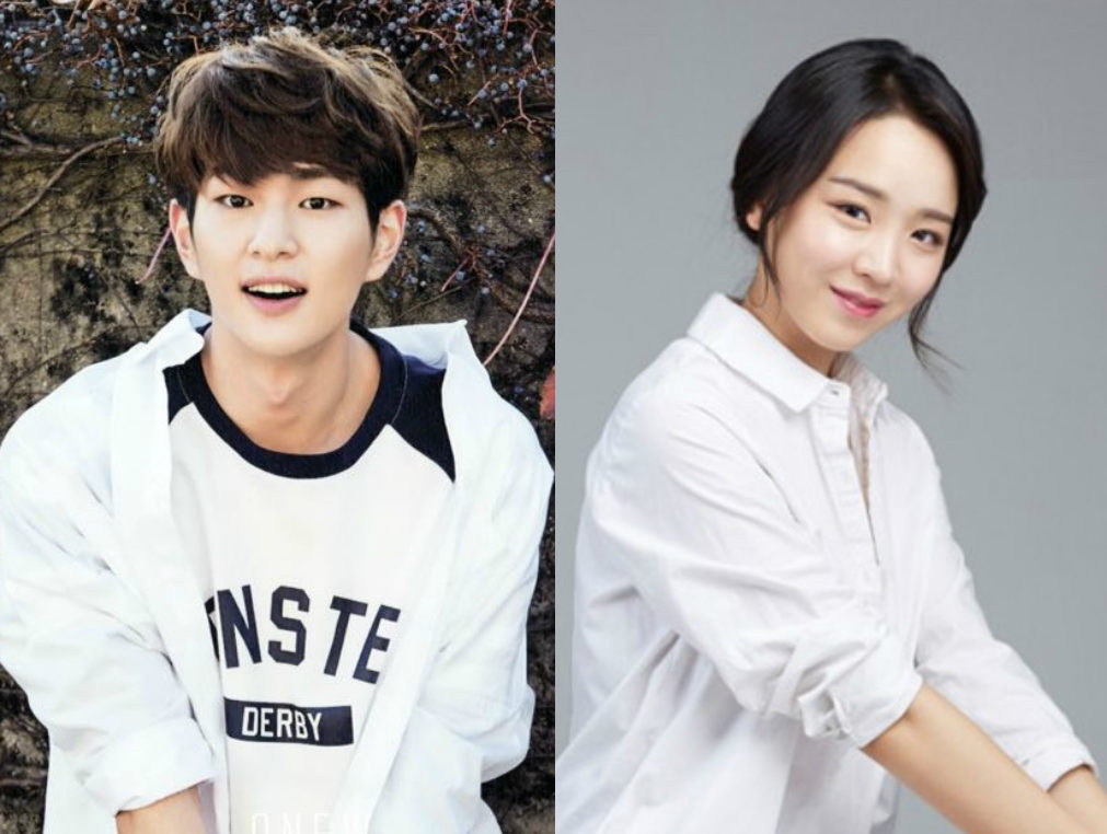 "SHINee's Onew And Shin Hye Sun To Receive Newcomer ""Scene Stealer"" Awards"