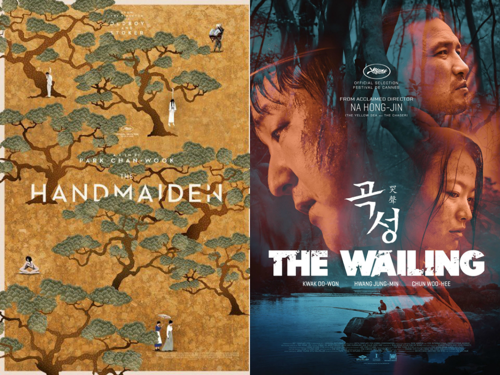 """The Handmaiden"" And ""The Wailing"" Chosen As Two Of The Best Movie Posters From Cannes"
