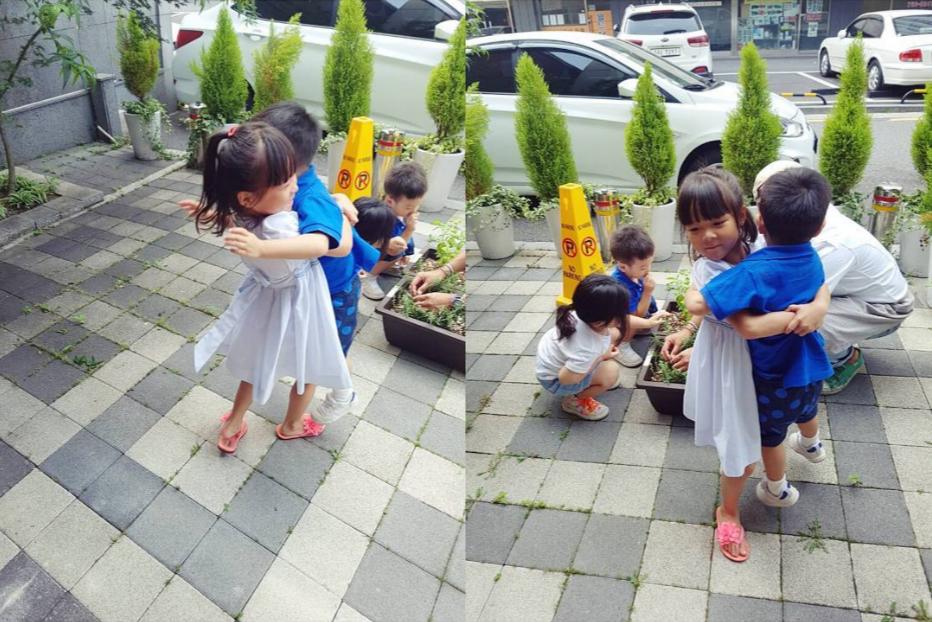 Choo Sarang Warmly Reunites With Lee Seo Eon And Lee Seo Jun