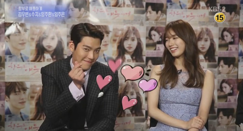 "Kim Woo Bin Thanks ""Descendants Of The Sun"" And Sends A Heart To Song Joong Ki"