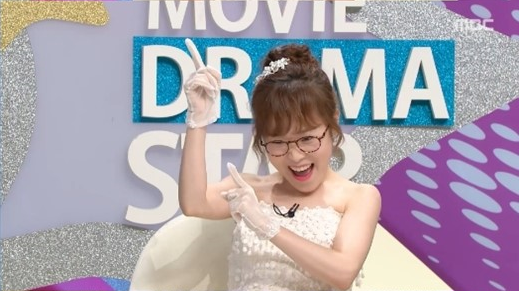 "Park Seul Gi Wears Her Wedding Dress Live On ""Section TV"""