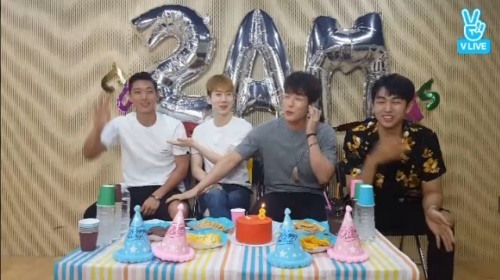 2AM Reunites To Hold V App Broadcast For 8th Anniversary