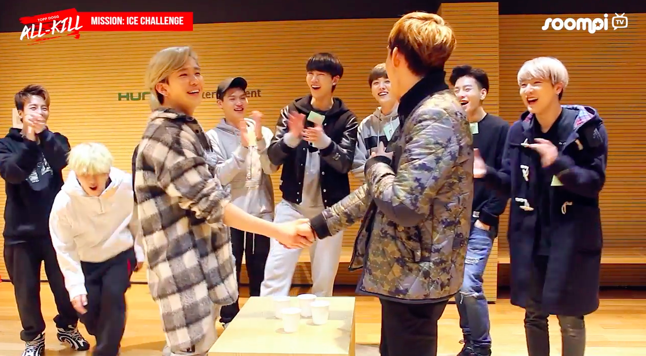 "Watch: Topp Dogg Writes Ice Cold Insult Poems While Taking On ""Ice Challenge"" On ""Topp Dogg: All-Kill"""