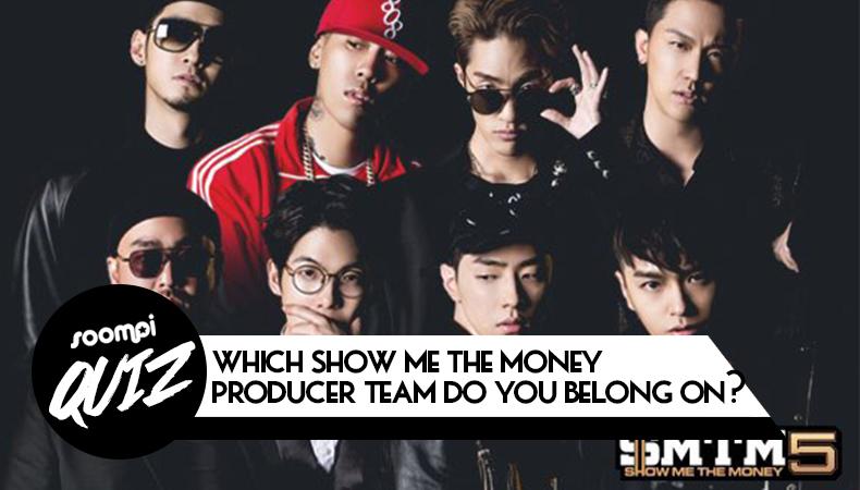 soompi kpop quiz show me the money producer team