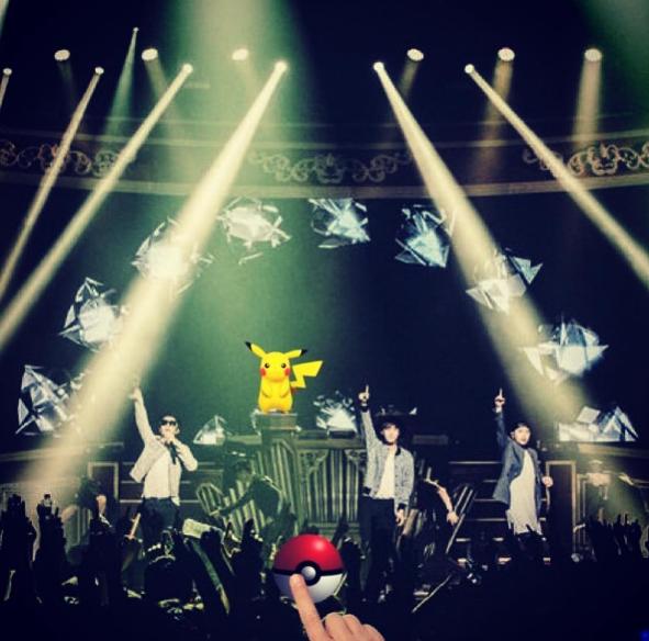 Tablo's Family Has Caught The Pokémon Go Bug Too