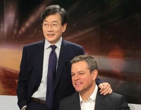 Matt Damon and Sohn Suk Hee