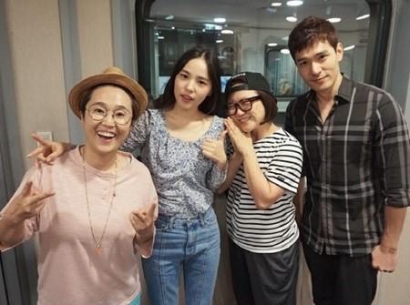 Min Hyo Rin Kim Sook 3