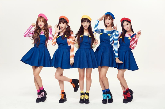 Crayon Pop Opens Official Instagram Account + Tries New Concepts
