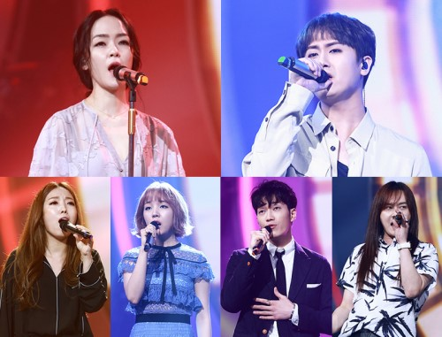"Watch: Kim Yoona, Baek A Yeon, Heo Young Saeng, And More Perform On ""Duet Song Festival"""