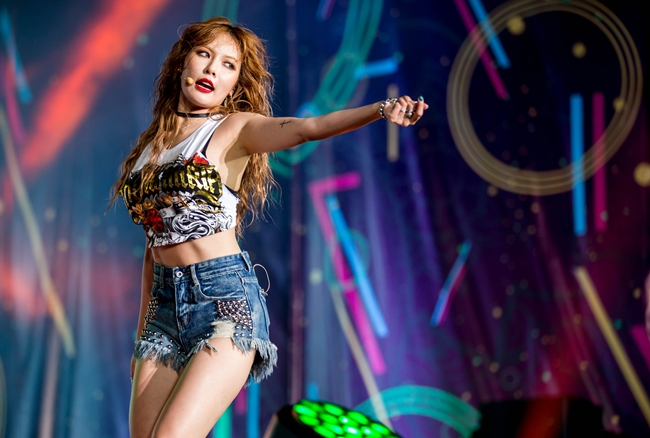 "Watch: HyunA Performs At ""Viral Fest Asia 2016,"" First ..."