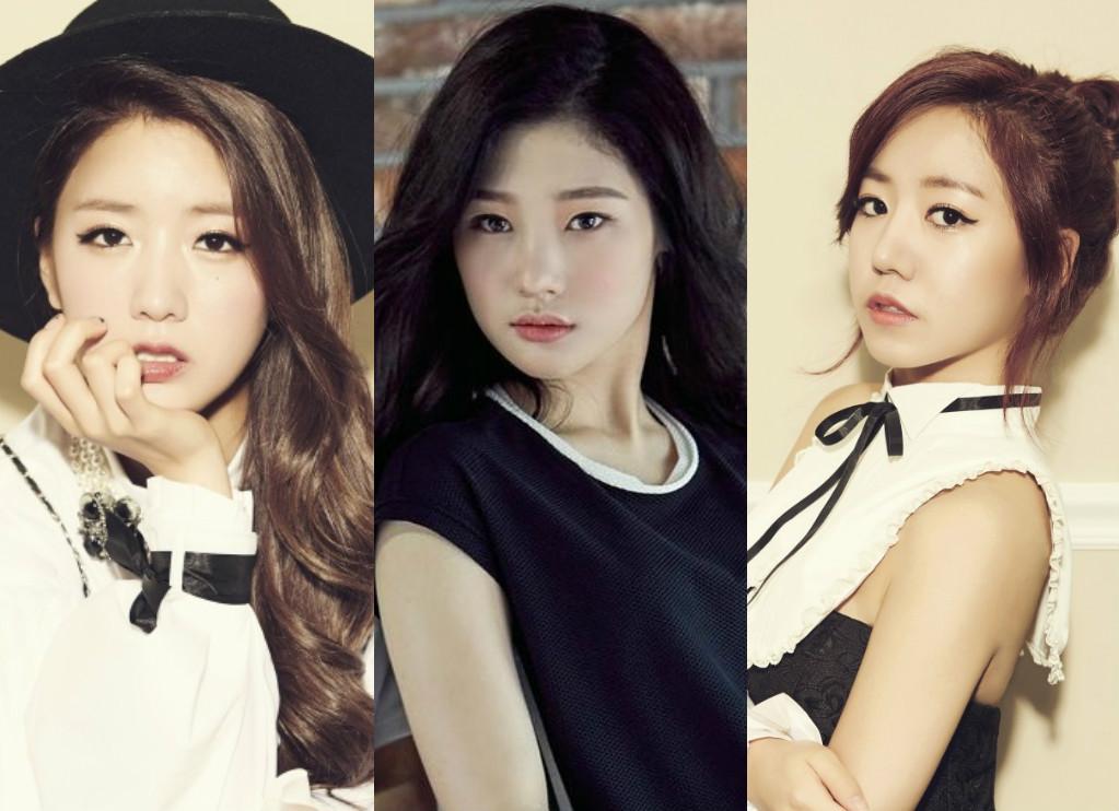 bomi jung chaeyeon namjoo