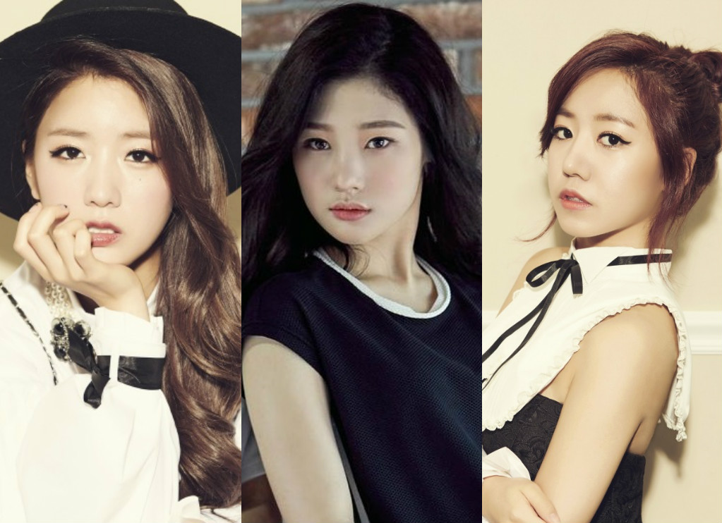 DIA's Jung Chaeyeon To Collaborate With A Pink's Bomi And Namjoo For A Summer Song