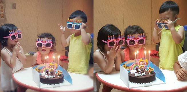 Daebak Celebrates His Twin Sisters Seol Ah And Soo Ah's Birthday