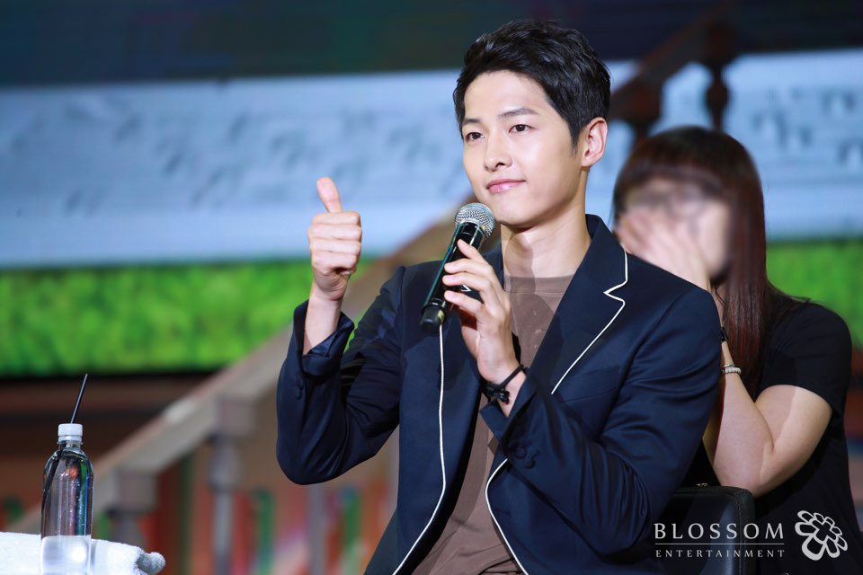 Song Joong Ki Gives Generous Gifts To Staff Members