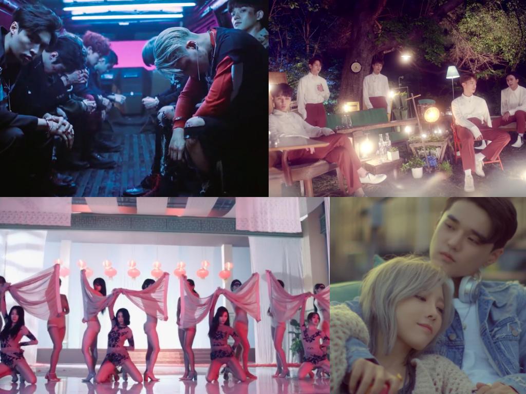 Billboard Names Most Watched K-Pop Music Videos Around The World In June 2016
