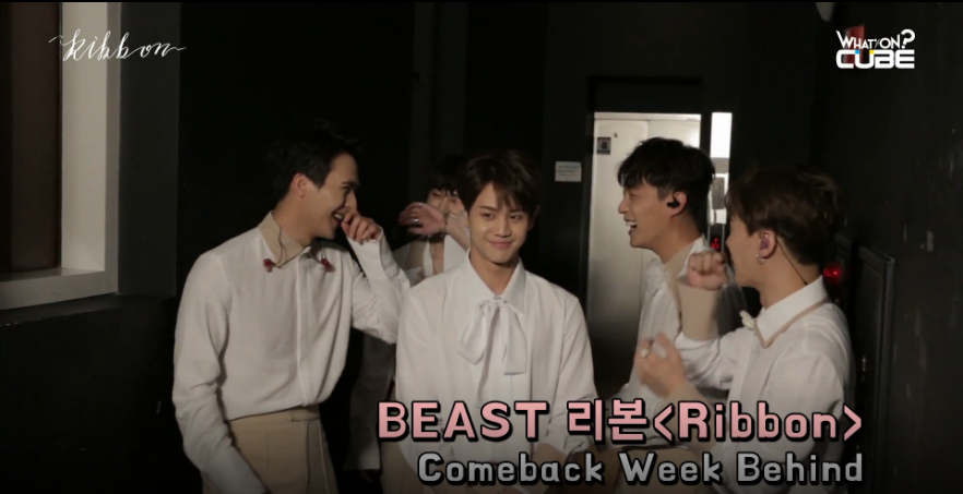 Watch: BEAST Shows Adorable Behavior On Behind The Scenes Video