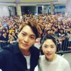 """Joo Won Is Once An Oppa, Always An Oppa To Fellow """"Yong Pal"""" Cast Park Hye Soo"""