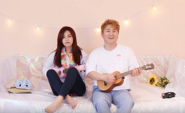 """Update: A Pink's Jung Eun Ji And Huh Gak Reveal """"Ocean"""" MV Teaser"""