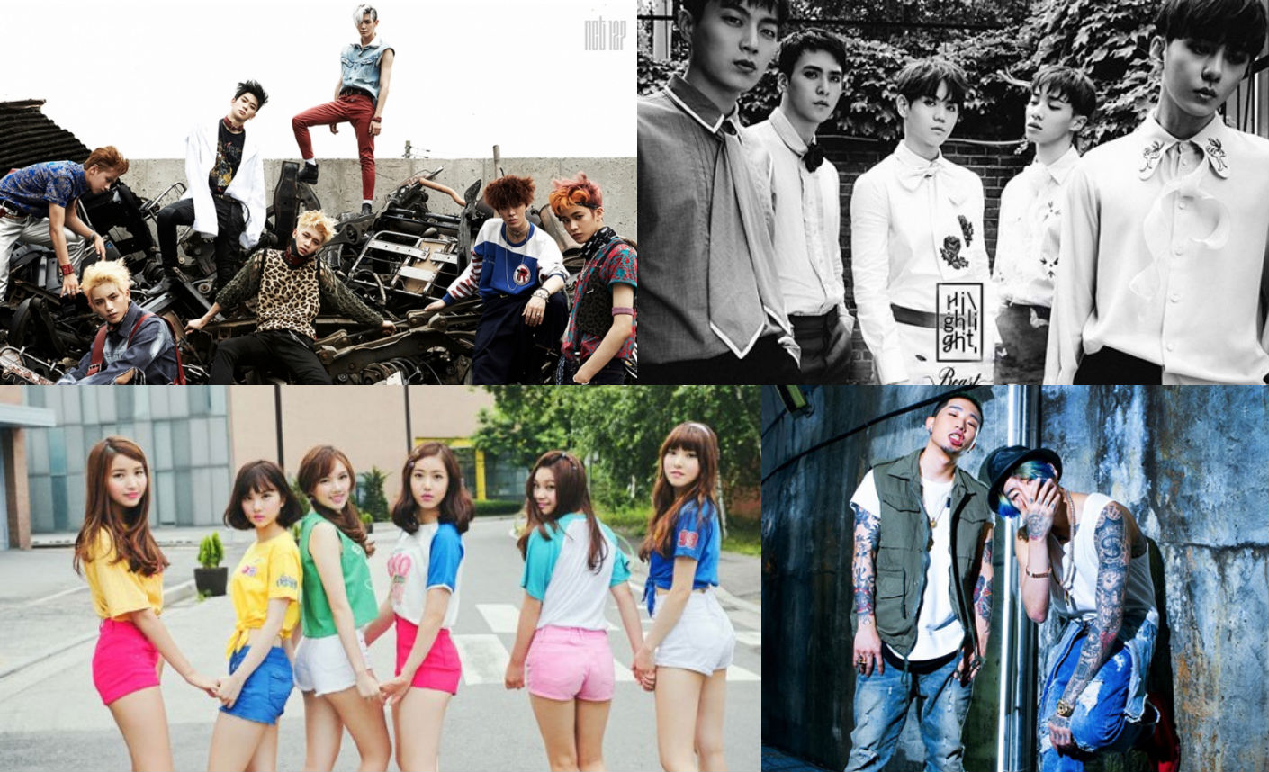 GFRIEND, NCT 127, Jay Park, And BEAST Take Over Billboard World Albums Chart