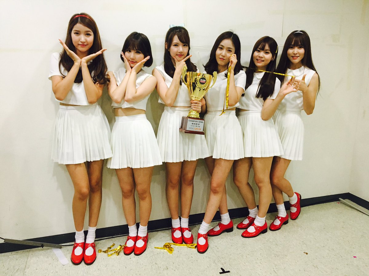 Watch gfriend grabs 2nd win for navillera on show champion