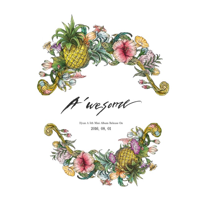 """HyunA Reveals First Teaser For """"A'wesome"""" Solo Comeback"""