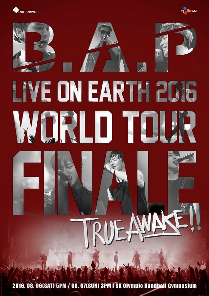 B.A.P Reveals Details About New Song And World Tour Finale