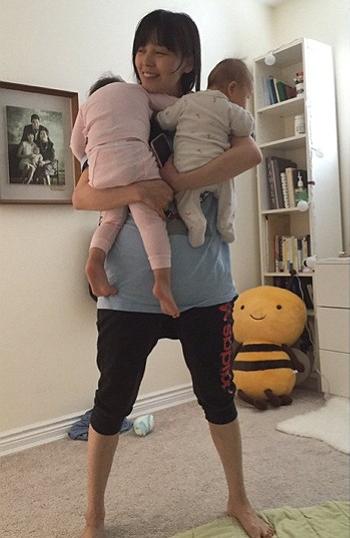 Sunye and kids