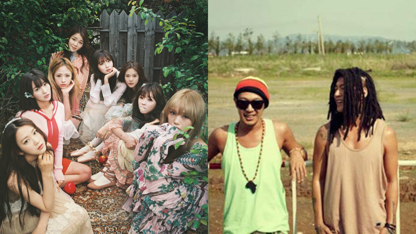 Oh My Girl's Comeback To Feature Reggae Duo Skull And Haha