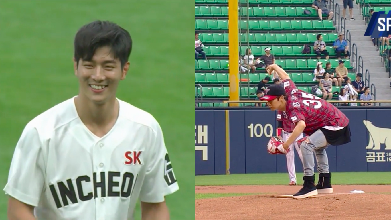 Watch: MADTOWN's Jota And Jang Woo Hyuk Turn First Pitches Into True Performances