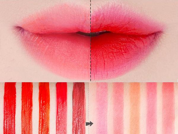 Natural lip makeup