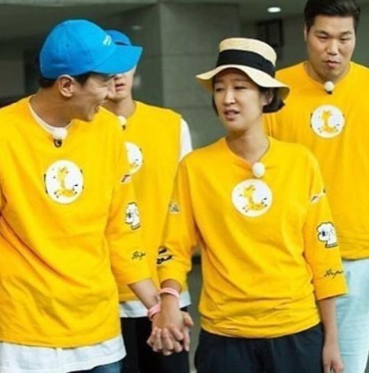 Lee Kwang Soo Hong Jin Kyung