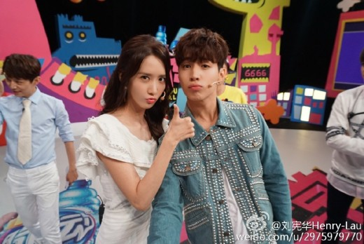 Super Junior Henry Girls' Generation YoonA2
