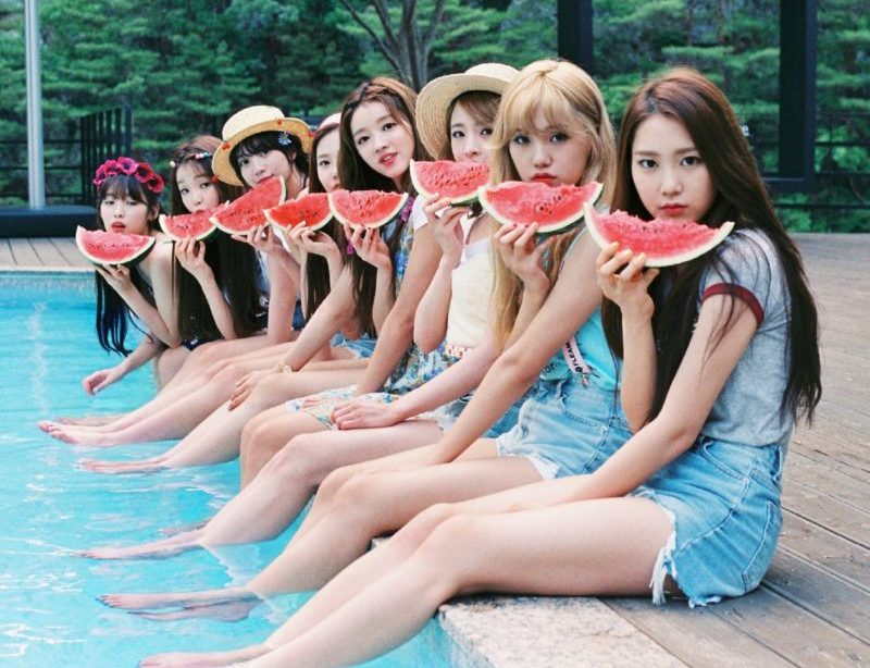 Oh My Girl Preparing For A Spring Comeback