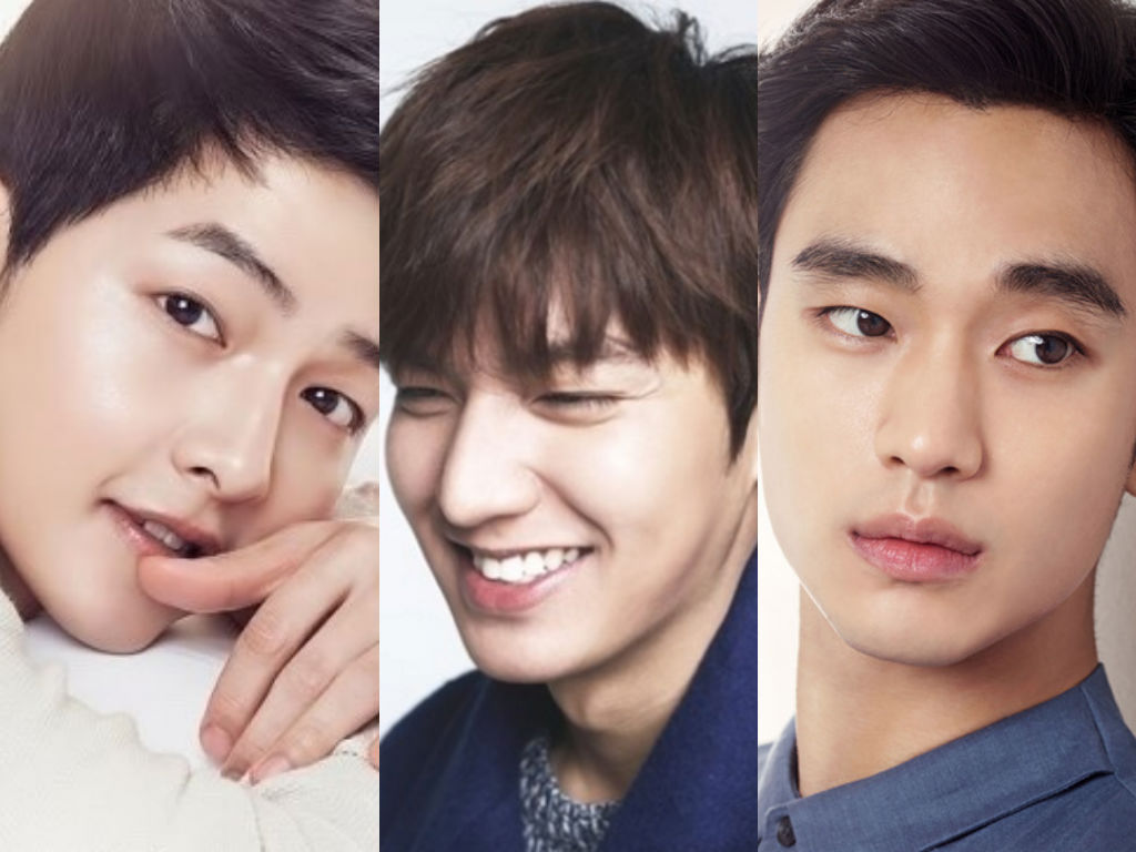 Taiwanese Fans Vote For Their Top 10 Favorite Korean Male Stars