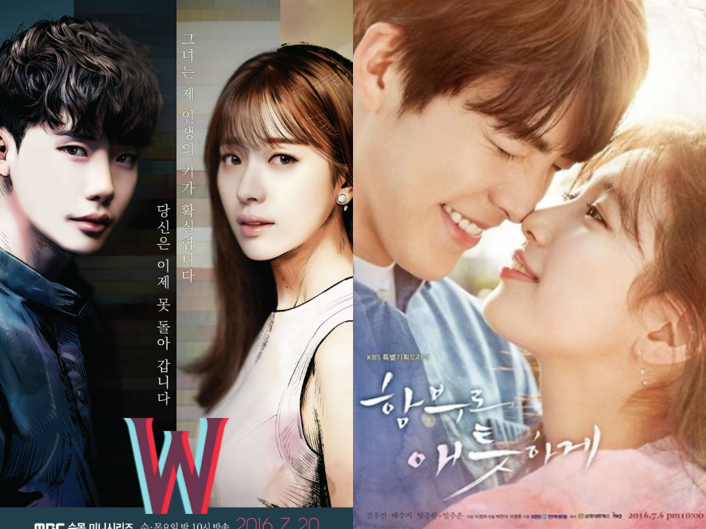 """W"" And ""Uncontrollably Fond"" Ratings Battle Surges On"