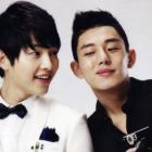 Yoo Ah In Sends Snack Truck To The Set Of Best Friend Song Joong Ki's Film