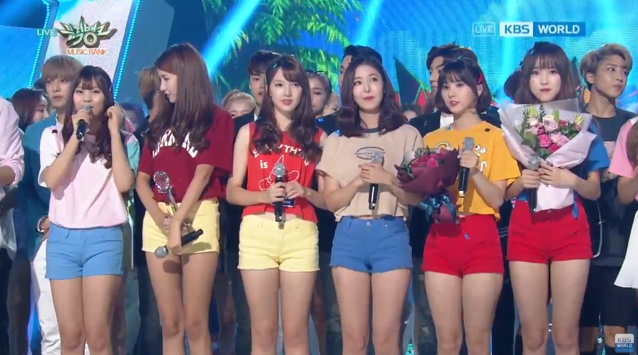 "Watch: GFRIEND Gets 7th Win For ""Navillera"" On ""Music Bank,"" Performances By FTISLAND, NCT 127, Fei, And More"