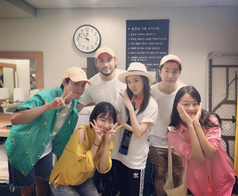2NE1's Sandara Park Supports Fellow Labelmates Epik High At Their Summer Concert