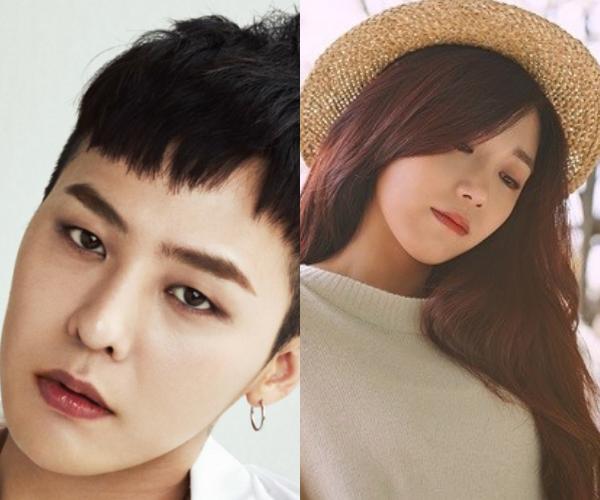 G-Dragon Jung Eun Ji
