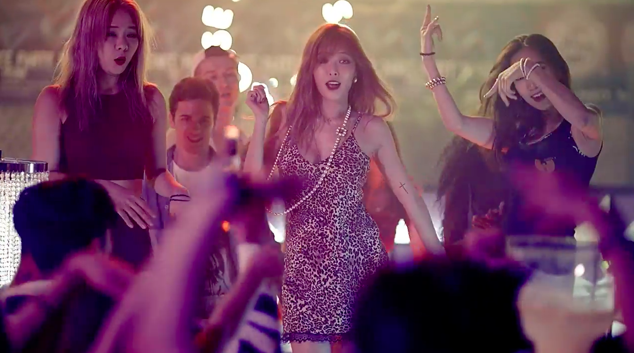 """Watch: HyunA Rules The Party In """"How's This?"""" MV"""