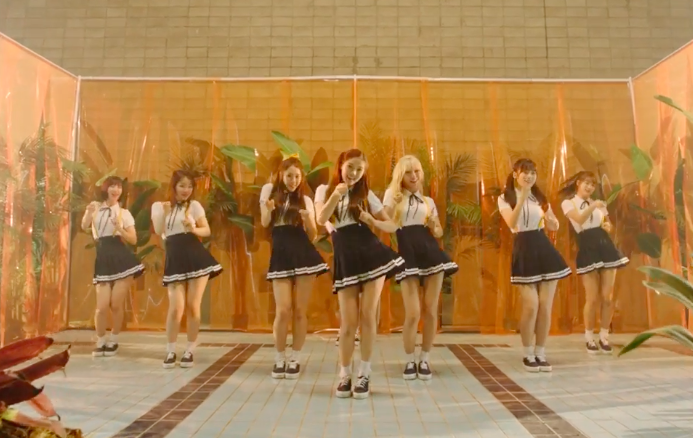 """Watch: Oh My Girl Returns With Summery MV For """"A-ing,"""" Featuring Skull And Haha"""