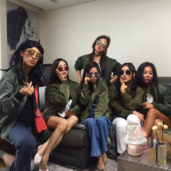 "Unnies From ""Sister's Slam Dunk"" Do Their Best Jessi"