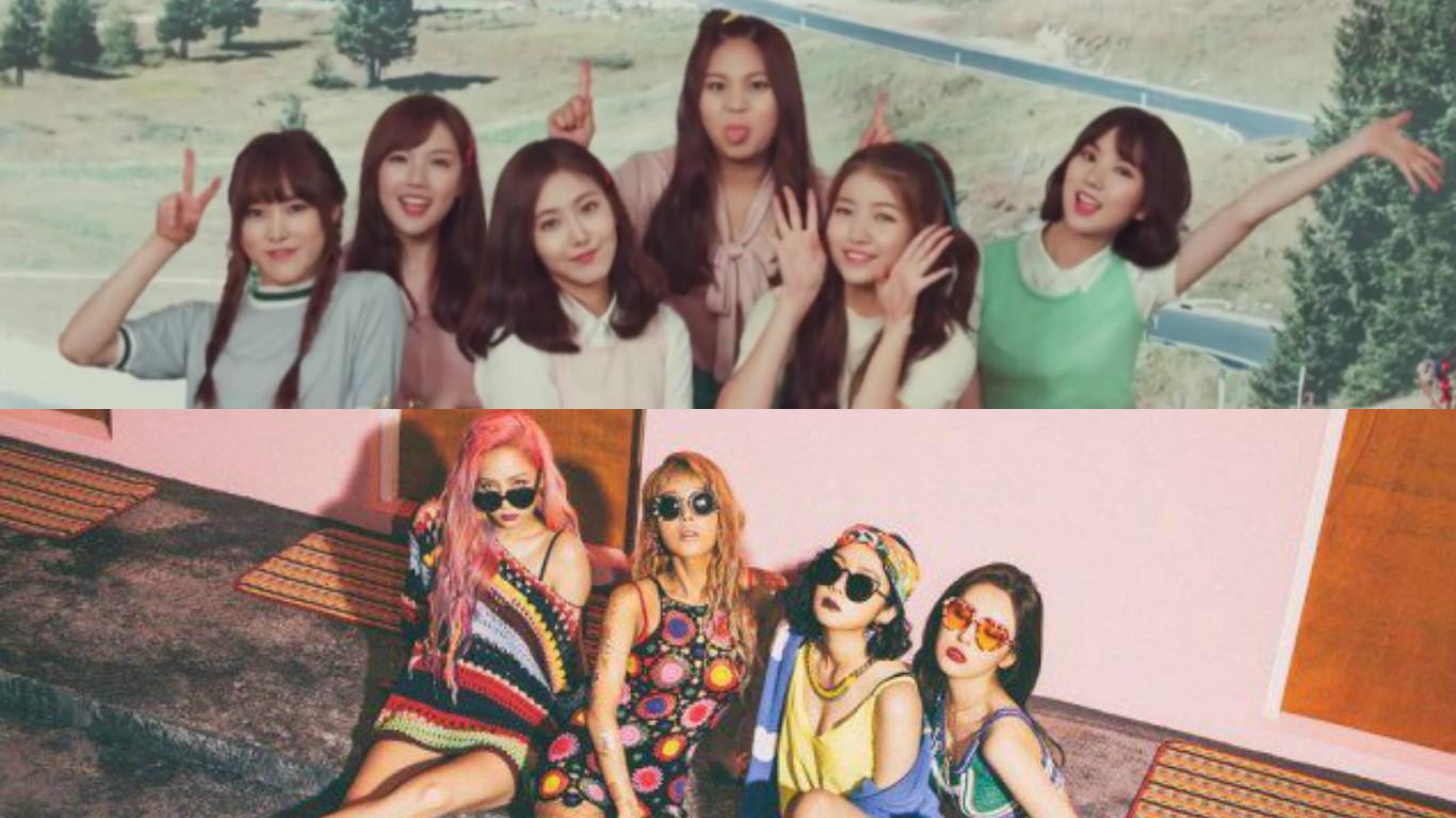 It's A Tie Breaker Between GFRIEND And Wonder Girls: Soompi's K-Pop Music Chart, July Week 5